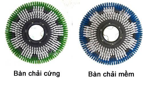 Bàn chải máy chà sàn có chức năng gì?