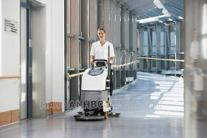Sử dụng máy chà sàn cho bệnh viện để bảo vệ sức khỏe của mọi người