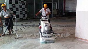 Máy mài sàn công nghiệp giúp tăng năng suất thi công