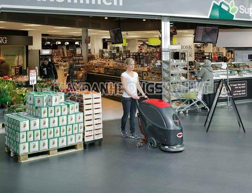 Máy chà sàn là thiết bị vệ sinh bề mặt sàn sạch sẽ
