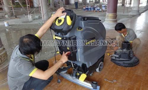 Sửa chữa máy chà sàn