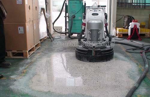 Quy trình đánh bóng sàn bê tông như thế nào?