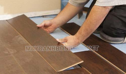 Sắp xếp các thanh gỗ theo kích thước nhất định
