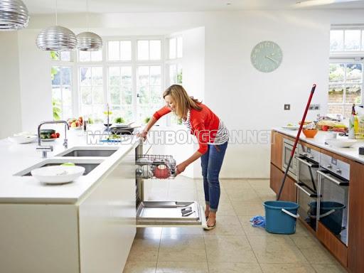Dọn vệ sinh khu vực phòng bếp