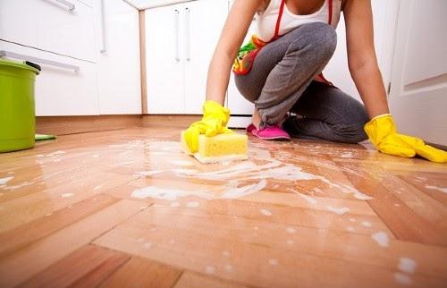 Cách lau sàn nhà đúng
