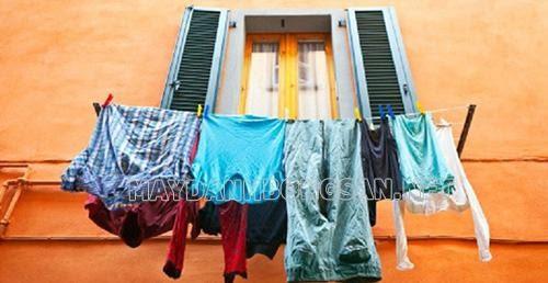 Cách giặt quần áo mới mua