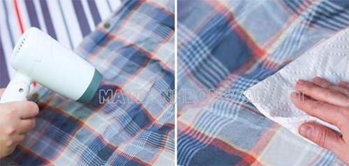 Cách tẩy sạch keo dán ống nhựa pvc trên quần áo