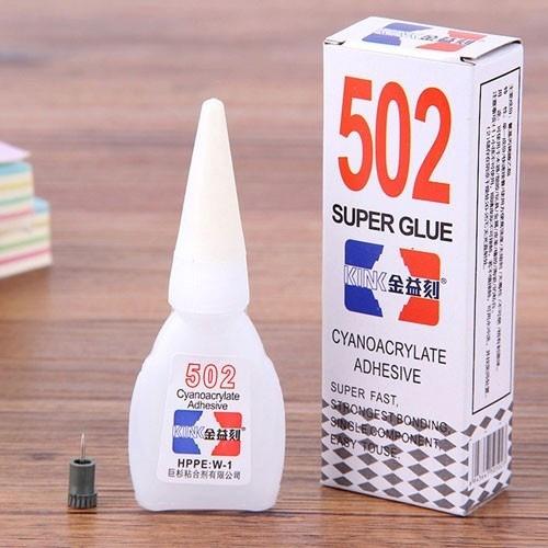 Keo 502 có dán được nhựa không
